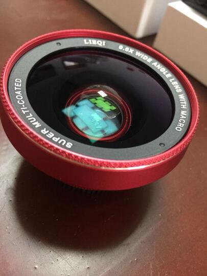 猎奇(LIEQI)手机镜头 抗畸变广角+微距套装 拍照神器 苹果华为外置摄像头 自拍照相镜头 LQ-025 苹果红 晒单图