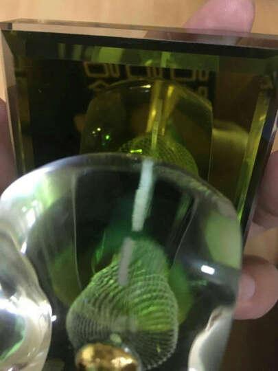 御琉宫 汽车载香水座摆件车内用除异味香熏精油除臭淡香奔弛宝马高档车上的古龙味香水瓶男士车里内饰用品 水晶球(一生平安) 晒单图