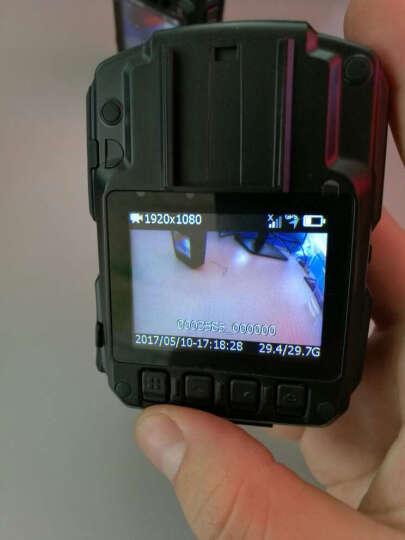 影卫达DSJ-4G执法记录仪3/4g实时传输高清视频无线WIFI连接GPS定位现场执法仪 连续录像12小时双电池(16G) 晒单图