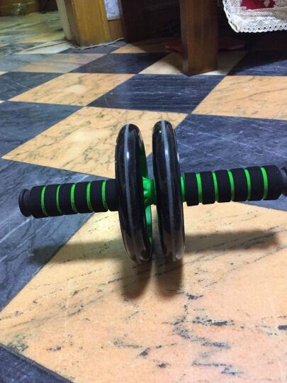 捷昇 健腹轮 腹肌轮静音双轮健腹器收腹滚轮 家用运动健身器材瘦肚子套装 绿色健腹轮+俯卧撑支架 晒单图
