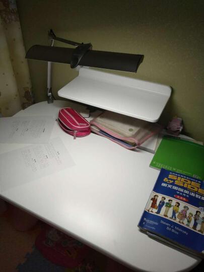札德 台湾震旦儿童学习书桌 环保可升降学生桌旋律桌学习桌桌椅组合 多功能写字桌 粉红色 1050*700*570-770 晒单图