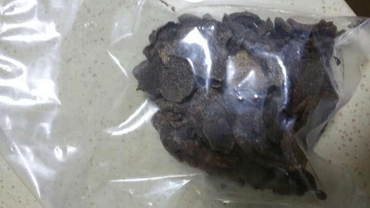 萌兴 云南野生黑松露菌成熟黑松露干片 2-4cm黑色100g 晒单图