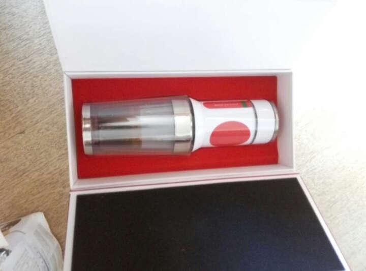 Barsetto 迷你便携式 手动意式浓缩户外车载多功能手压胶囊咖啡机 典雅白 晒单图