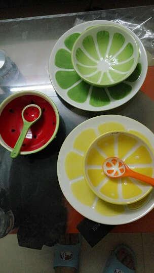 悠家良品(UPSTYLE) 卡通创意水果陶瓷碗家用汤碗儿童米饭碗沙拉可爱小碗日式甜品碗 西瓜碗 晒单图