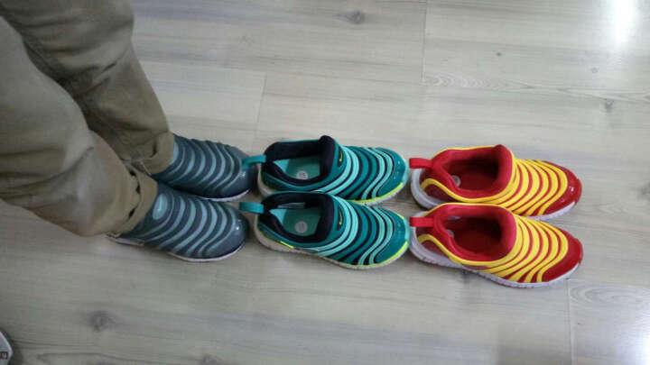 耐克(Nike)343738 616 DYNAMO FREE 男女学步鞋毛毛虫童鞋休闲运动鞋 红/白 31码 晒单图