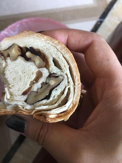 甜苦瓜 俄罗斯特色餐包列巴黑加仑核桃葡萄干果脯新疆早餐面包 420g黑加仑核桃小列巴【1】 晒单图