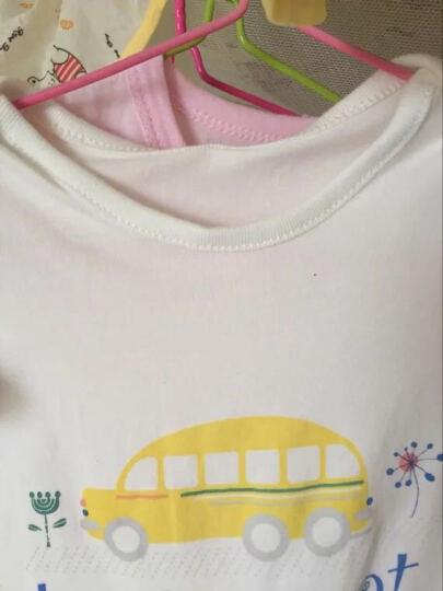 芝麻馄饨(ZHIMA&HUNTUN) 婴儿衣服短袖新生儿连体衣哈衣爬服内衣童装男女0-3岁 61801铁塔印花 12-18M(80cm) 晒单图
