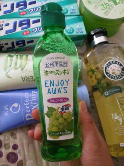 日本 火箭石碱(ROCKET) 洗洁精 餐具洗涤剂果蔬清洗剂 厨房油污清洁剂 600ml 天然无毒不伤手 晒单图