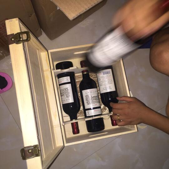 路易拉菲2009珍酿原酒进口红酒男爵古堡干红葡萄酒 6支组合装(路易拉菲+路易拉菲伯爵+路易拉菲特选) 晒单图