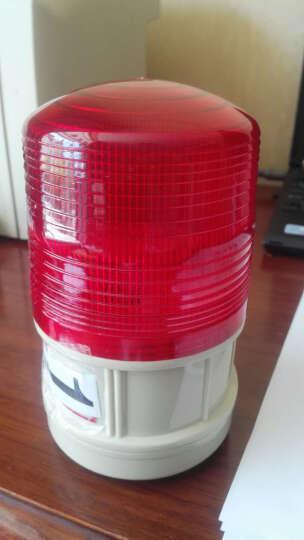 鹿途 汽车校车LED报警灯频闪灯 闪光信号灯警示 带开关 磁铁吸附 装电池 红色强磁铁吸附 晒单图