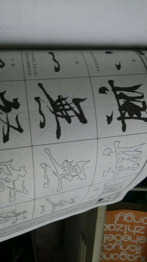 墨点字帖·毛笔临摹描基础训练:王羲之《兰亭序》选字(毛笔行书书法字帖) 晒单图