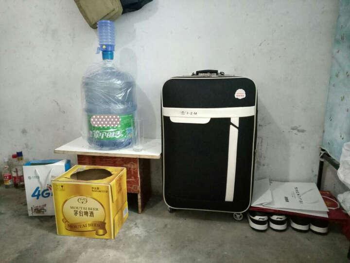 万向轮拉杆箱 男士旅行皮箱包26/24英寸手提行李箱女登机箱包袋 城市黑 24英寸(推荐.50%顾客选择) 晒单图