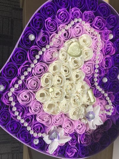 I'M HUA HUA118朵爱心红色香皂玫瑰花礼盒保鲜花速递同城生日礼物情人节鲜花礼物纪念日礼物送女生女友 晒单图
