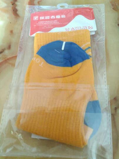 TOREAD kids  探路者童袜户外运动 春装秋装男童中筒袜(1双)儿童袜子 暖黄 20-22cm 晒单图