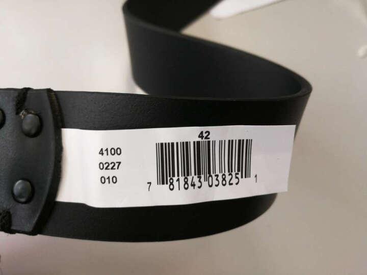 美国正品Calvin Klein凯文克莱CK男士真皮牛仔裤腰带皮带41000227 黑色 36 晒单图