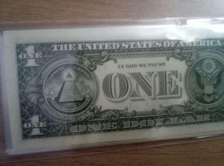金永恒   全新美元 美利坚合众国美元  美金美国纸币 外国钱币 1美元2013年华盛顿十连号 晒单图