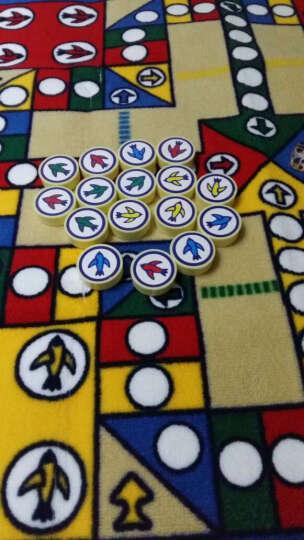 惠多飞行棋地毯 儿童爬行垫游戏地毯飞行棋垫子 大富翁地毯 晒单图