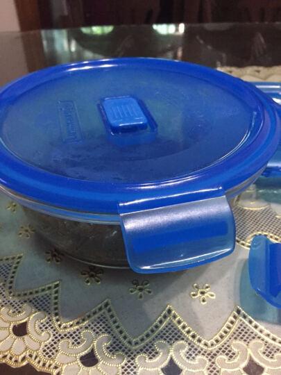 乐美雅(Luminarc) 乐美雅玻璃保鲜盒3件礼盒套装密封冰箱微波炉饭盒厨房收纳盒套装 正方形玻璃保鲜盒三件套 晒单图