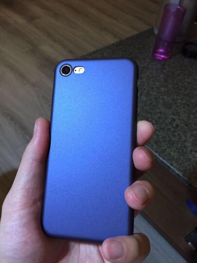 蒙奇奇 iPhone7/8手机壳手机套防摔磨砂保护壳 适用于苹果8/7plus 5.5英寸玛雅红 全包保护 晒单图