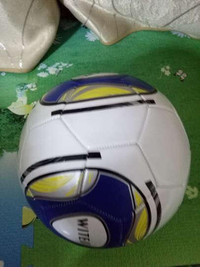 WITESS 足球3号儿童 标准4号5号教学比赛PU皮革 炫酷蓝5号 晒单图