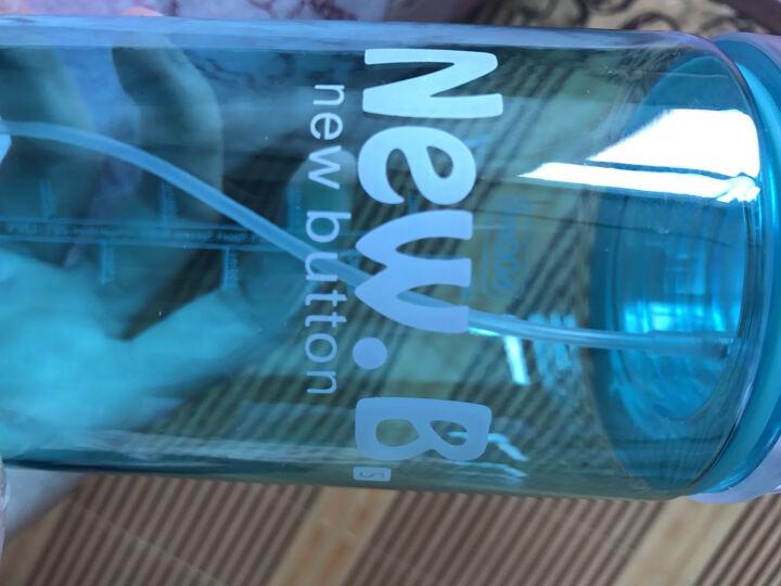 创意礼品 喷雾水杯 创意实用运动便携式水杯 节日520礼物 送女友朋友同事儿童生日礼物 蓝色 晒单图