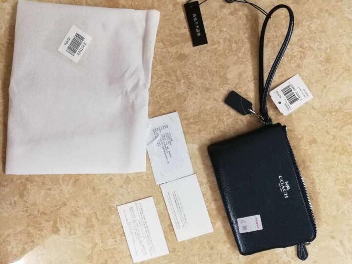 COACH 蔻驰 女士手拿包 玫红色皮质短款零钱包 F54626 IMBAJ (54626 IMBAJ) 晒单图