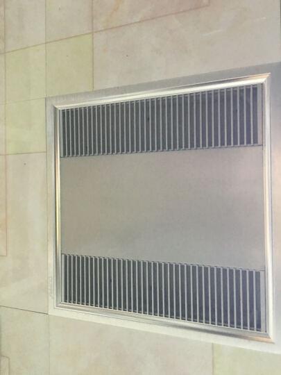 OUPPU 300H-22超薄款型材换气扇铝扣板吊顶厨房卫生间 静音抽风机 强力排气扇模块 晒单图