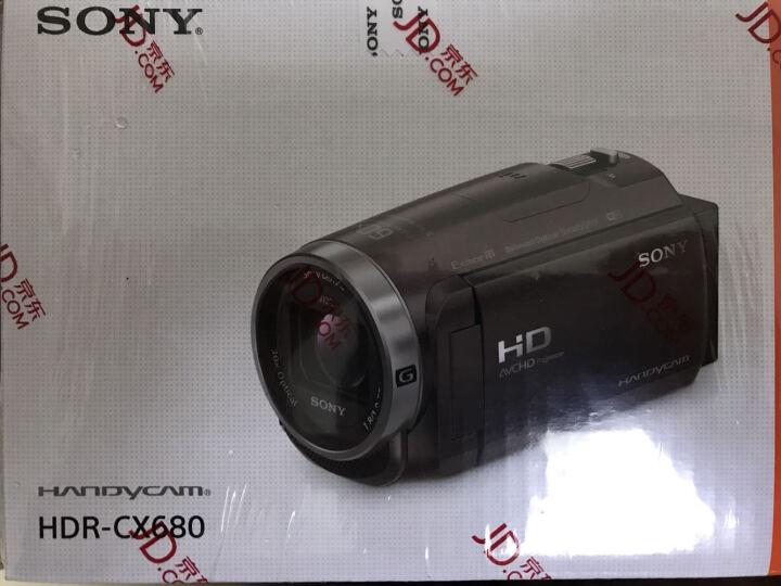 索尼(SONY)HDR-CX680 高清数码摄像机 5轴防抖 30倍光学变焦(棕色) 家用DV/摄影/录像 晒单图