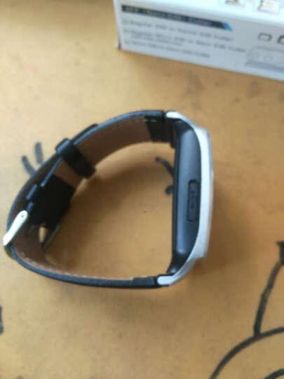 【清仓】喜越 L020 智能手表男女通用蓝牙插卡儿童电话手表手机兼容三星摄影录音上网单独苹 银灰 晒单图