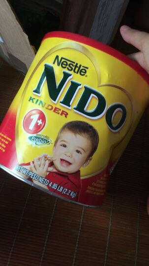美国直邮 Nestle雀巢NIDO 美国进口 富含益生元 全脂即溶 儿童奶粉 3岁+奶粉800g 一罐【2017年7月到期】 晒单图