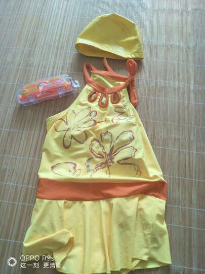 宾陆(BEONNLTO) 儿童泳衣女童连体裙式 中大童游泳装少女温泉 粉红色 5XL 身高150-160cm 晒单图