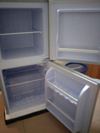 樱花(SAKURA) 樱花 88升双门冰箱 双门迷你小型电冰箱 节能冰箱 BCD-88A 银色 晒单图
