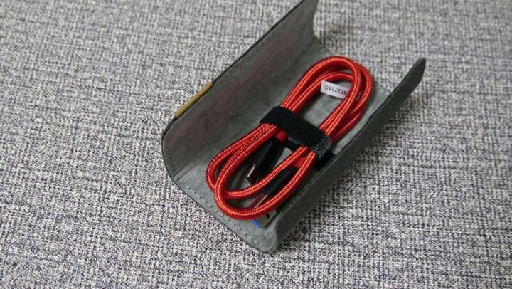 Anker安克 USB-C数据线 USB3.0安卓手机快充充电器电源线 支持华为P9/P10荣耀8小米5/4C乐视/Switch 0.9米红 晒单图