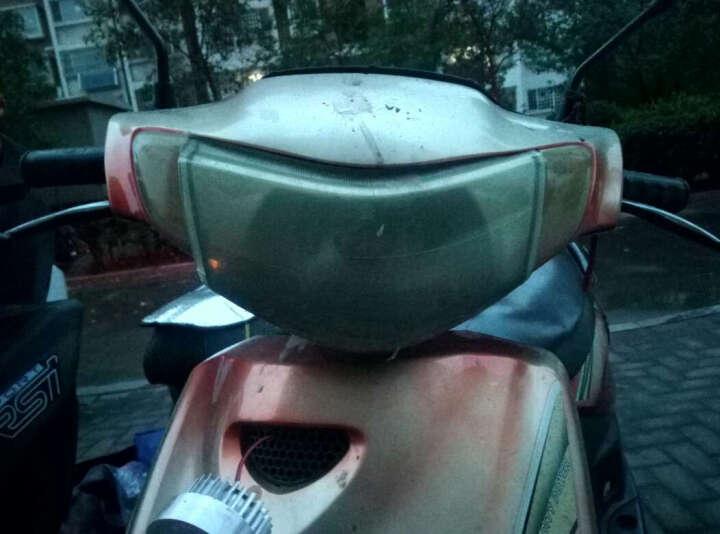 欧峰 迅鹰电动车电瓶车电摩踏板摩托车72V双人60V祖玛自行车96v1500W 磨砂黑 大迅鹰72v20A超威锂电池 晒单图