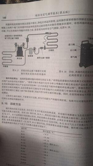 制冷与空气调节技术(第五版) 晒单图