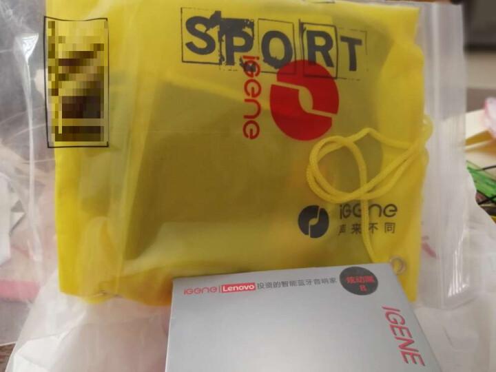击音(iGene)Touch Sport 触控级降噪运动防水蓝牙耳机男女分款挂耳式跑步健身4.1无线HIFI  黑红色-男 晒单图