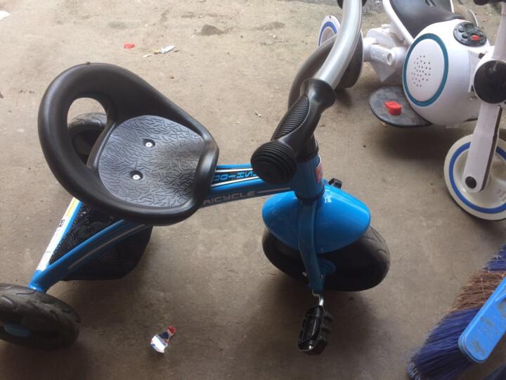 好孩子(gb) 儿童三轮车1-3岁童车男女宝宝玩具车幼儿幼童脚踏车自行车 蓝色 晒单图