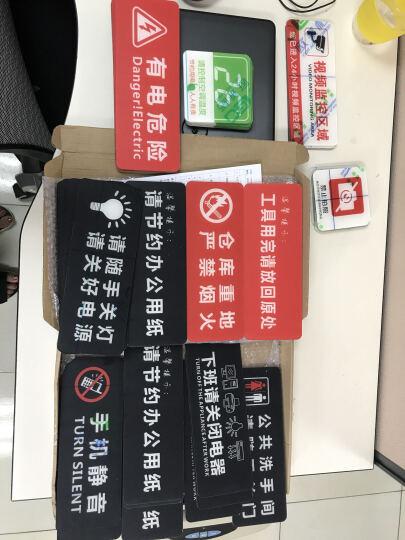 安全标识牌标志牌标牌警示牌警告标牌提示牌非消防灭火器消火栓标牌标贴 安全生产人人有责 晒单图