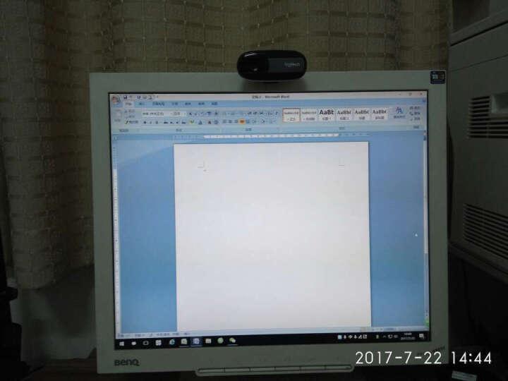罗技(Logitech)C170高清网络摄像头 台式机笔记本电脑视频USB摄像头带麦克风 C170 网络摄像头 黑色 晒单图