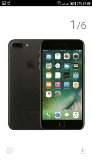 【联通赠费版】Apple iPhone 7 32G 黑色 移动联通电信4G手机 晒单图
