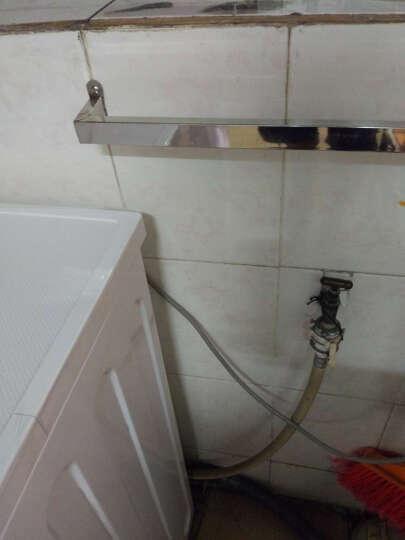 小天鹅(LittleSwan)8公斤变频滚筒洗衣机 智能APP控制 适用三口之家 TG80V20WDX 晒单图