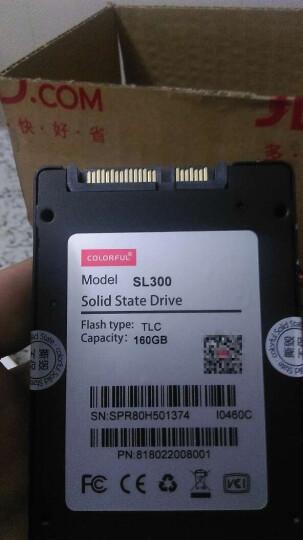 七彩虹(Colorful)SL300 160GB SATA3 SSD固态硬盘 晒单图