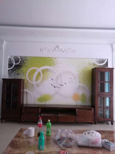嘉嘉尚彩 茶几 美式乡村实木茶几电视柜组合套装长方形小户型简约欧式客厅家具仿古做旧茶桌 订做其他尺寸(45天) 晒单图