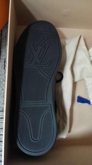 全球购路易威登LV男士经典Damier格纹帆布搭配小牛皮系带休闲运动鞋1A1IMG 5.5 晒单图