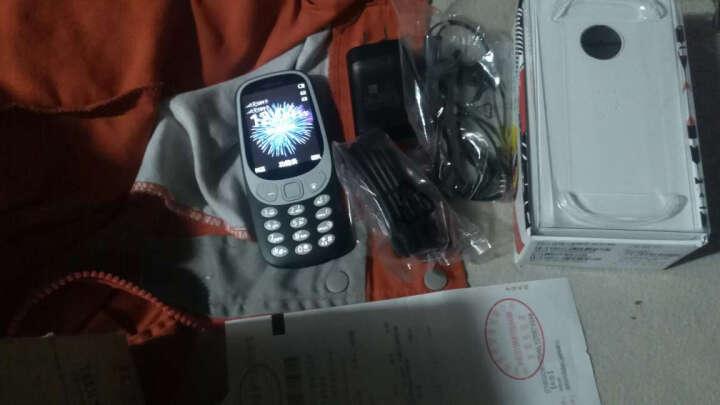 诺基亚(NOKIA)3310 深蓝色 直板按键 移动联通2G手机 双卡双待 时尚手机 经典复刻 学生备用功能机 晒单图