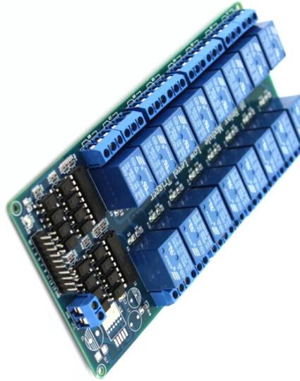 千水星 16路5V继电器模块(低电平触发) 创客电子电路制作DIY模型材料 光耦保护 电磁继电器 晒单图