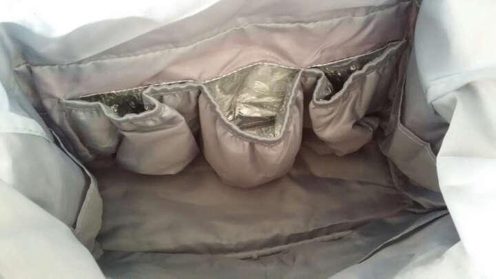 Aardman 妈咪包 内胆包 单肩手提小号母婴包多功能妈妈包分格孕妇外出 HY-1516 魅力紫 晒单图