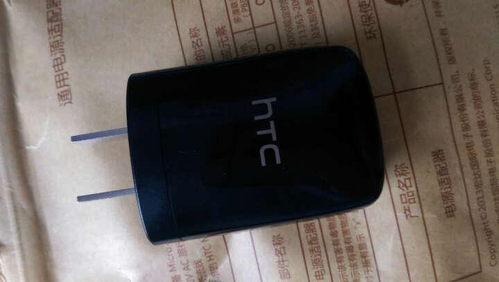 HTC 电源适配器 原装充电器 适用于one M7 M8 M9 A9 816 820 X9 黑色 5V 1A原装充电器头 晒单图