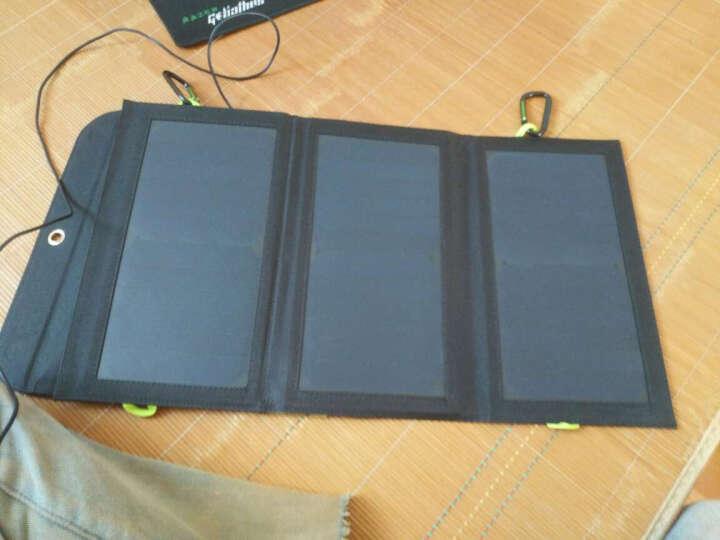AP折叠太阳能充电器5V 21W/18W充电宝8000毫安锂电池手机便捷移动电源快充充电板 5V21W带8000毫安电池 晒单图