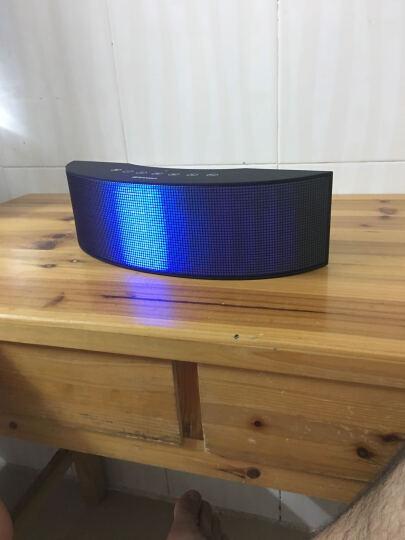 山水 SANSUI T10无线蓝牙音响 有源回音壁 家庭影院小音箱 平板电脑低音炮 七彩灯音箱 黑色 晒单图